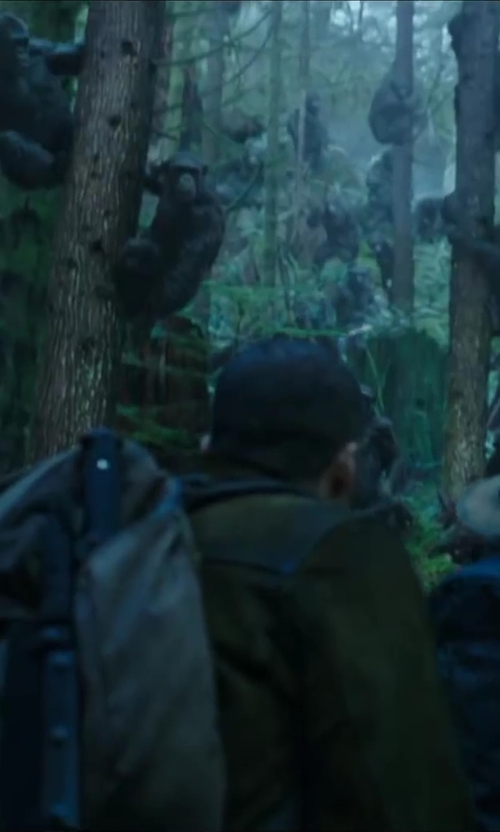 Kirk Acevedo with Kltech Brand New Canvas Backpack Rucksack Handbag in Dawn of the Planet of the Apes