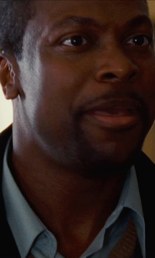 Chris Tucker with Calibrate Trim Fit Dress Shirt in Silver Linings Playbook