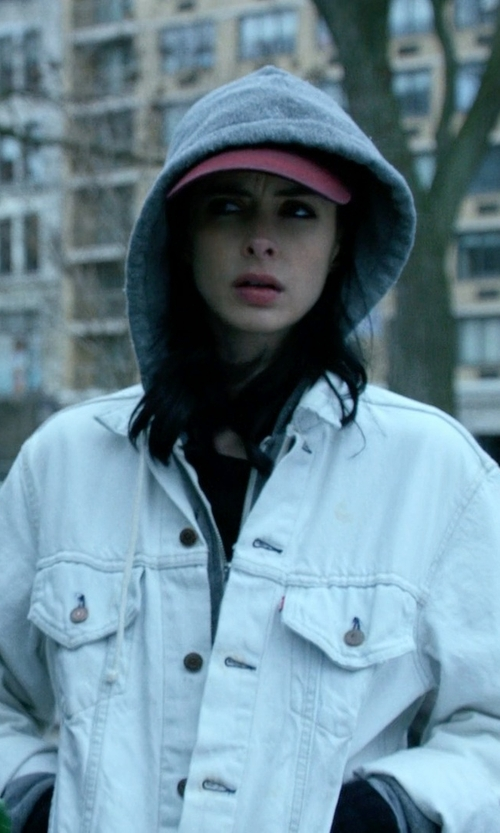 Krysten Ritter with Levi's The Trucker Jacket in Jessica Jones