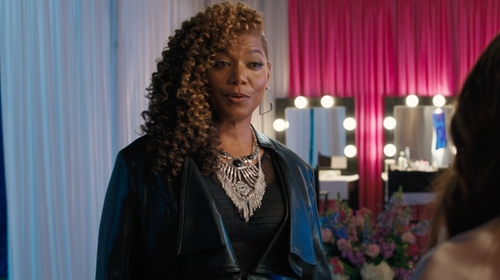 Queen Latifah with Cinq a Sept Paige Bodysuit in Girls Trip