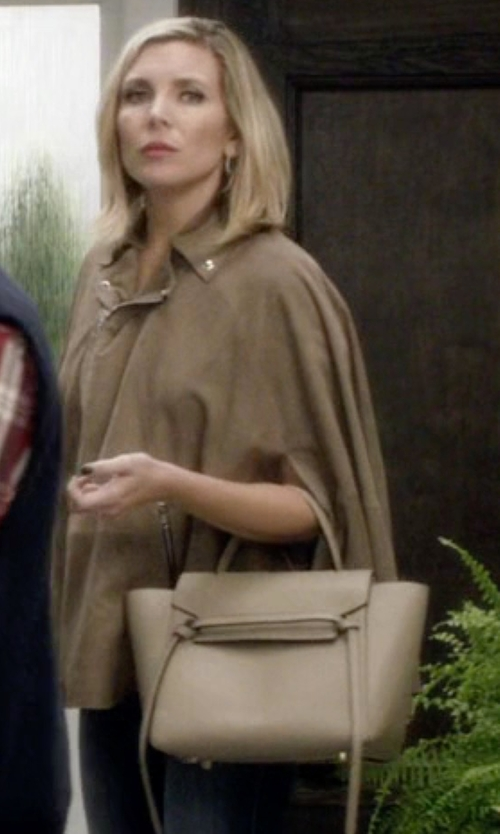 June Diane Raphael with Celine Belt Bag in Grace and Frankie