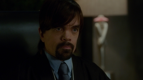 Peter Dinklage with Anto Geometric Tie in The Boss