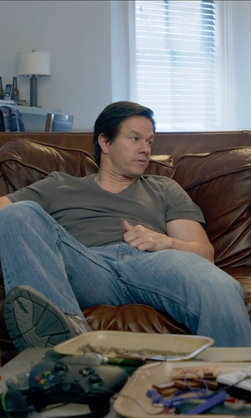 Mark Wahlberg with MGNERD Denim Pants in Ted 2