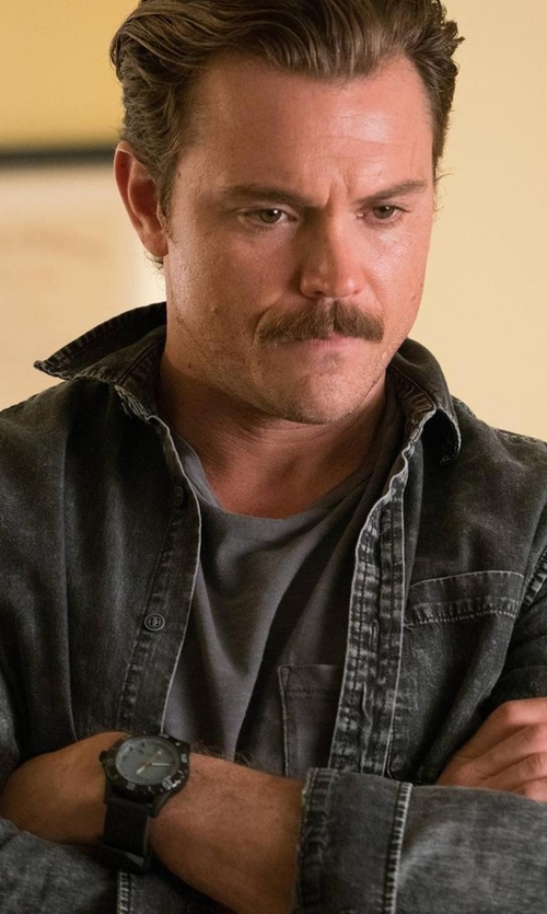 Clayne Crawford with 5.11 Granite Sentinel Watch in Lethal Weapon