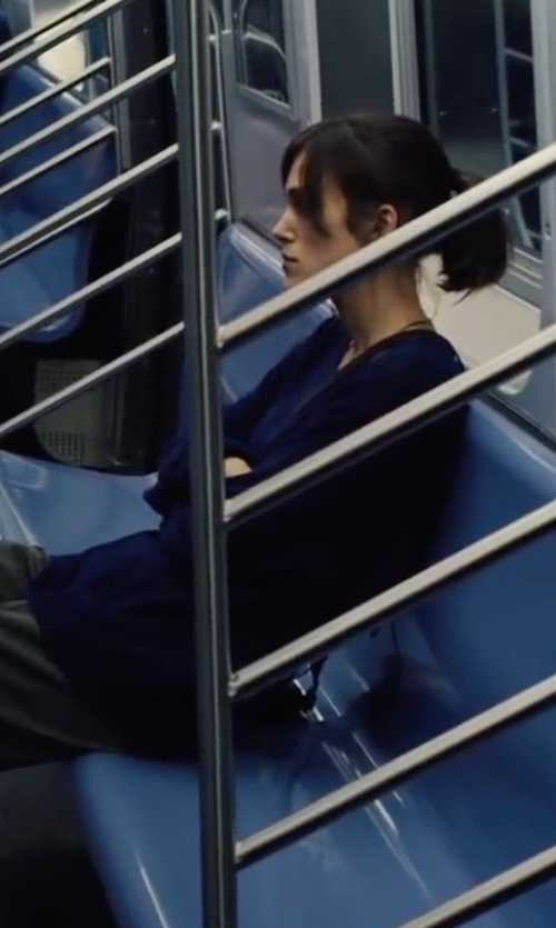 Keira Knightley with Marni Cashmere Sweater in Begin Again