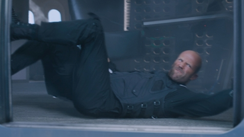 Jason Statham with Rothco Flightsuit in The Fate of the Furious