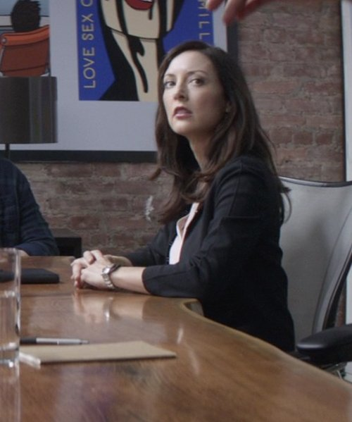Lola Glaudini with David Yurman	 Classic Quartz Watch - White Ceramic in That Awkward Moment