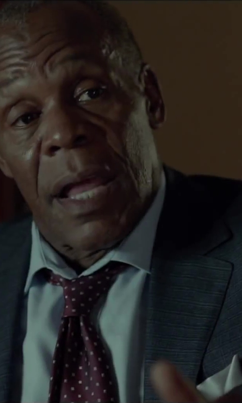 Danny Glover with Barneys New York Silk Pocket Square in Beyond the Lights