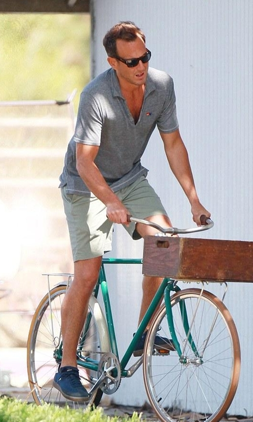 Will Arnett with Adidas Originals Samba MC Lifestyle Indoor Sneaker in Flaked