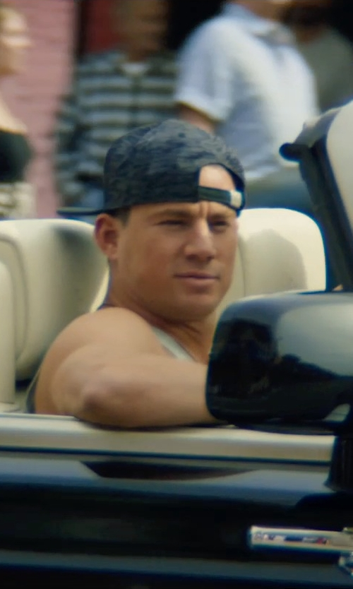 Channing Tatum with Zanerobe Zr Baseball Cap in Magic Mike XXL