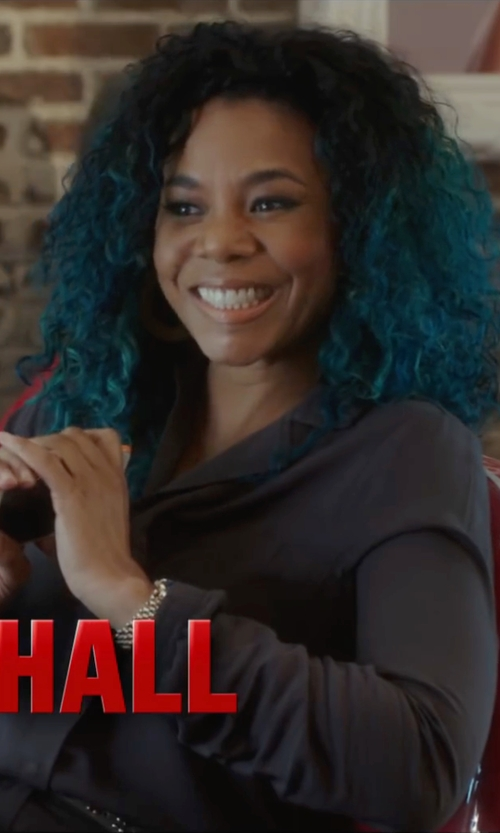 Regina Hall with Isabel Marant Etoile Peters Jumpsuit in Barbershop: The Next Cut
