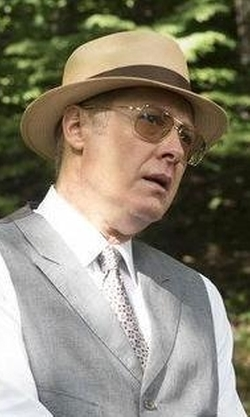 James Spader with Oliver Peoples Victory Sunglasses in The Blacklist