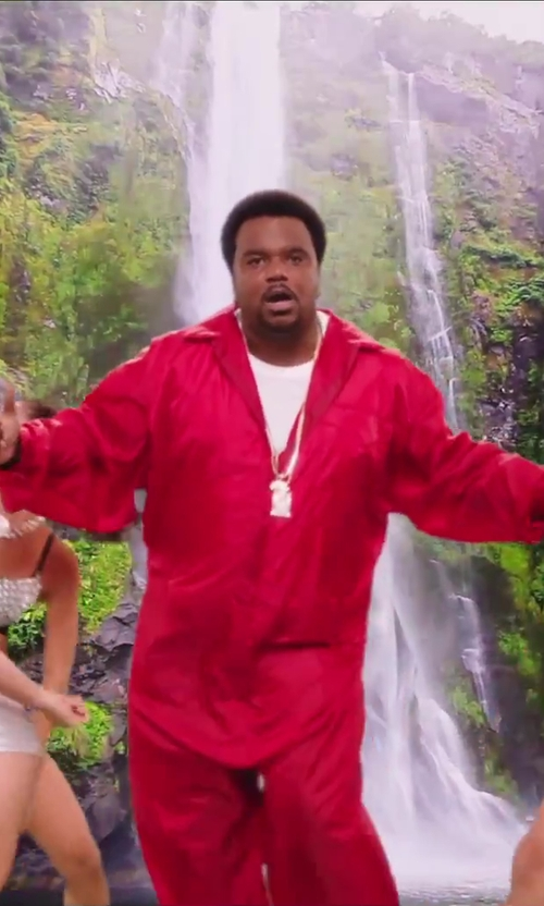 Craig Robinson with Wings + Horns Base T-Shirt in Hot Tub Time Machine 2