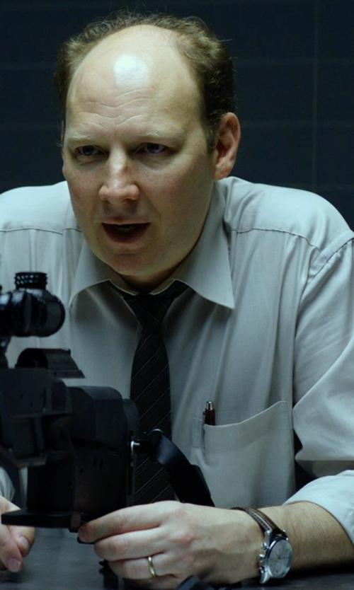 Dan Bakkedahl with Cross 'Townsend' Ballpoint Pen in Hitman: Agent 47