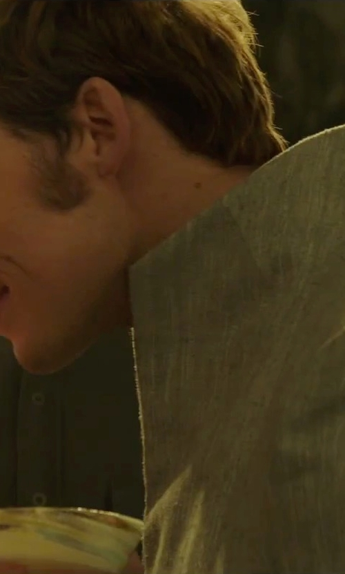Sam Claflin with Tom Rebl Blazer in The Hunger Games: Mockingjay - Part 2