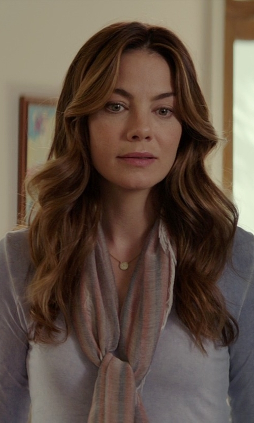 Michelle Monaghan with INC International Concepts Scoop-Neck Top in The Best of Me