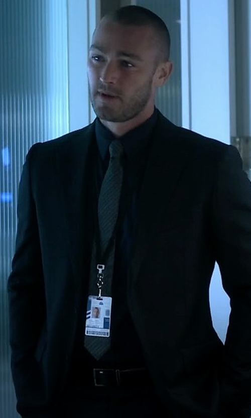 Jake McLaughlin with Versace Collection City Fit Basic Suit in Quantico