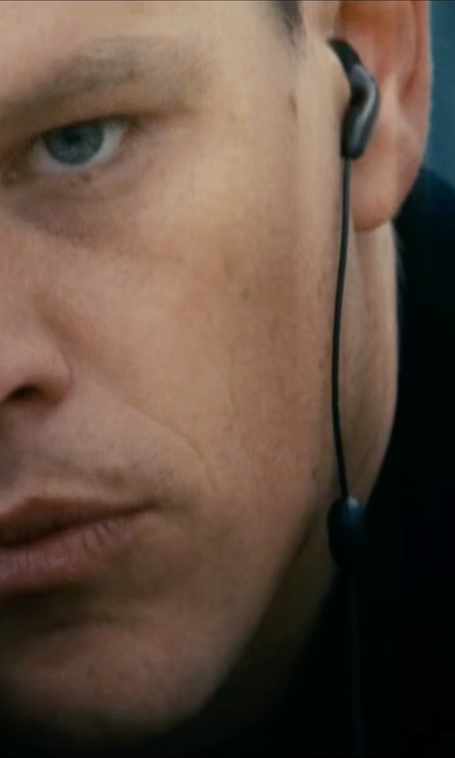 Matt Damon with Reigning Champ Nylon Jacket in Jason Bourne