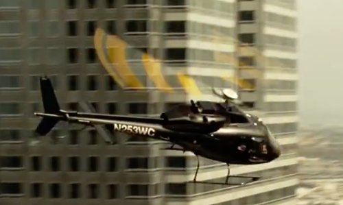 Alan D. Purwin with Airbus Helicopters AS355 Helicopter in Taken 3
