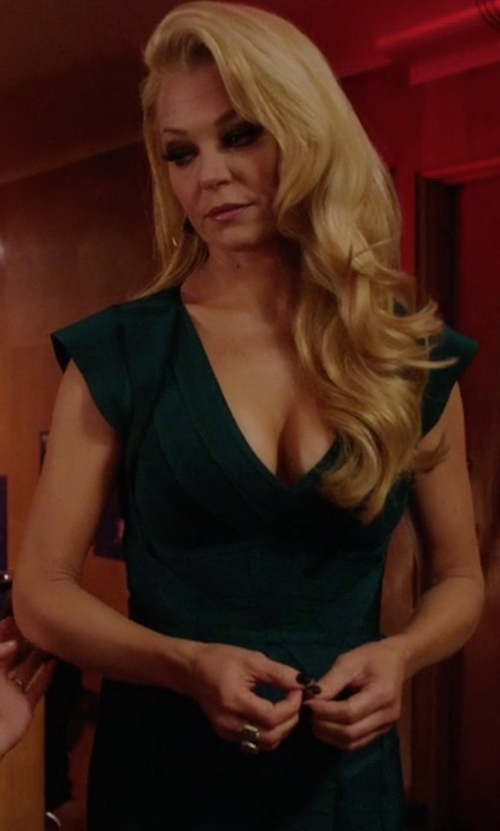 Charlotte Ross with Kendra Scott Naomi Double Finger Ring in Arrow