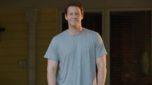 Ike Barinholtz with Rag & Bone Cotton-Blend T-Shirt in Sisters