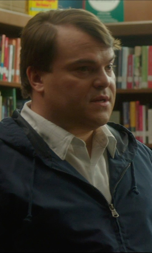 Jack Black with Club Monaco Cashmere Hoodie Jacket in The D Train