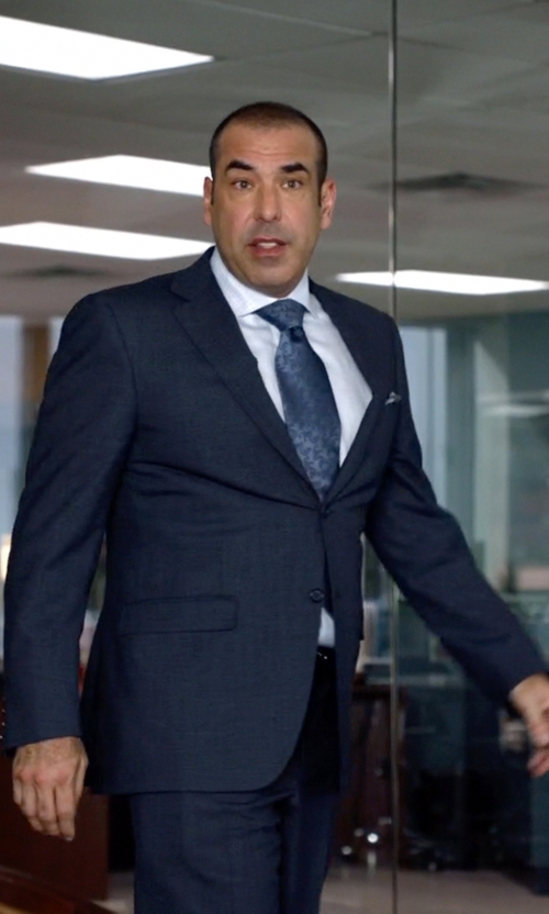 Rick Hoffman with Burberry London Two Piece Suit in Suits