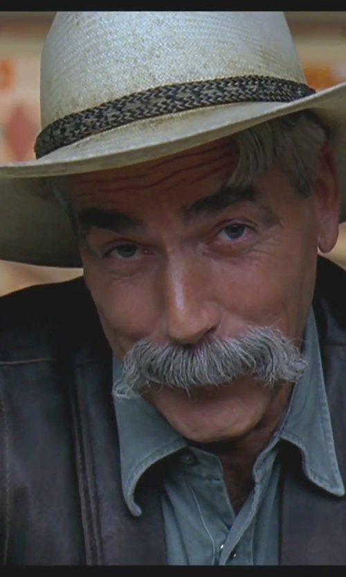 Sam Elliott with Justin Men's Butte Hat in The Big Lebowski