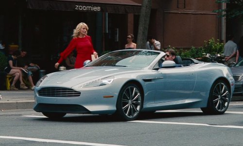 Nikolaj Coster-Waldau with Aston Martin DB9 Volante in The Other Woman