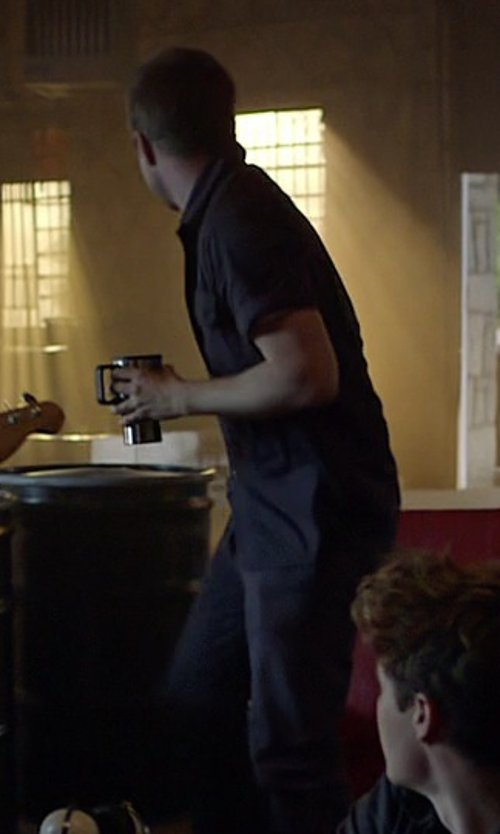 Aaron Paul with Dockers Men's Alpha Fillmore Slim Pants in Need for Speed