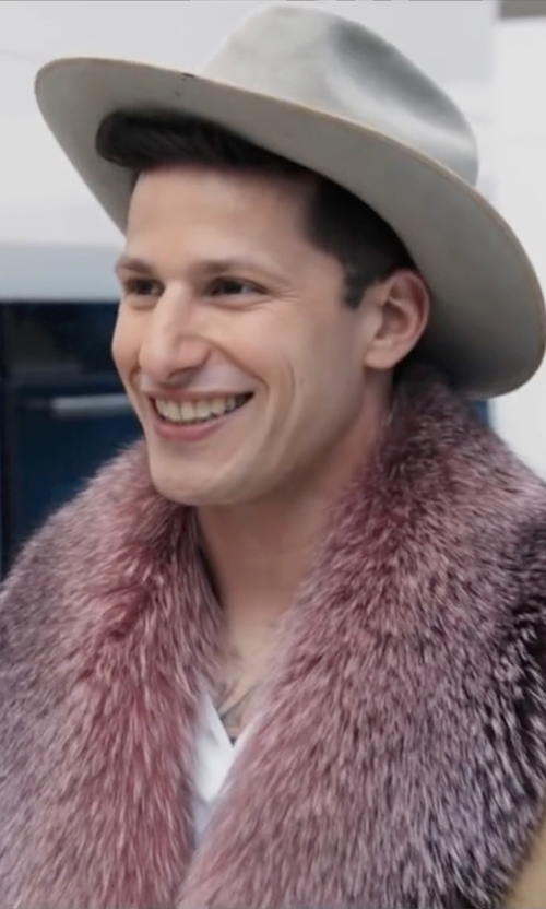 Andy Samberg with Bailey Western Lightning Western Hat in Popstar: Never Stop Never Stopping