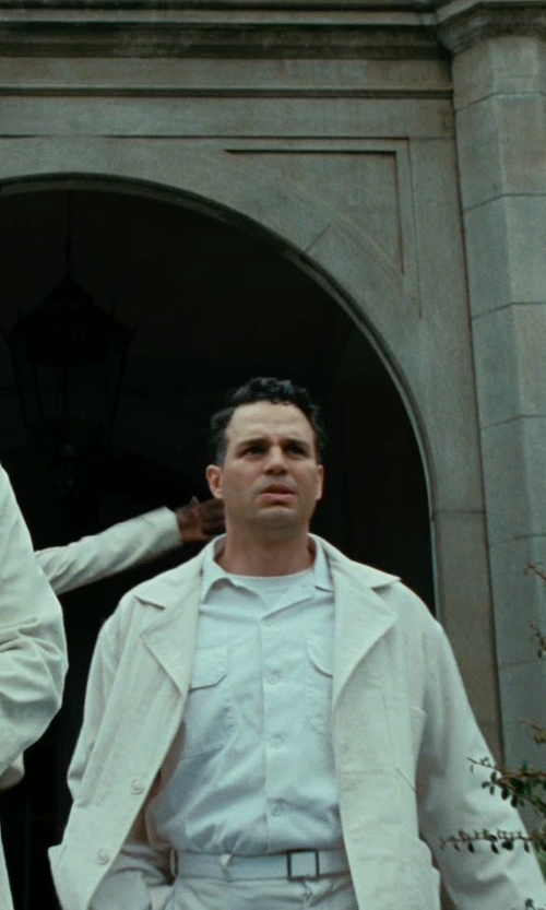 Mark Ruffalo with Walls Ranchwear Oxford Shirt - Long Sleeve in Shutter Island