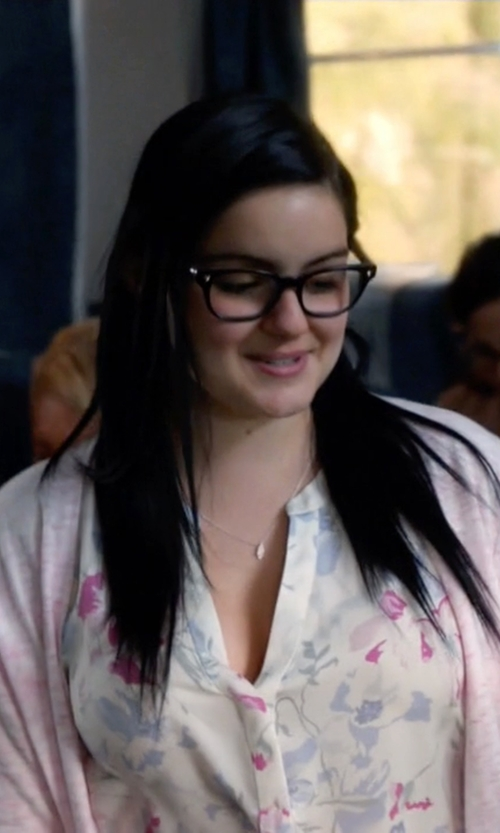 Ariel Winter with Tom Ford Rounded Square Optical Frames in Modern Family