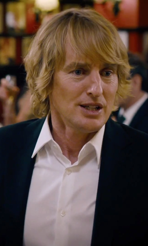 Owen Wilson with Ermenegildo Zegna	 Solid Two-Piece Suit in She's Funny That Way