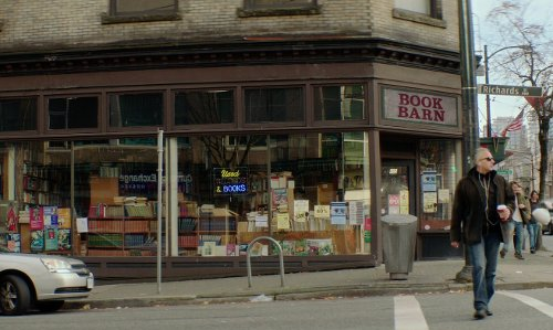 Unknown Actor with MacLeod's Books (Depicted as Book Barn) Vancouver, Canada in If I Stay