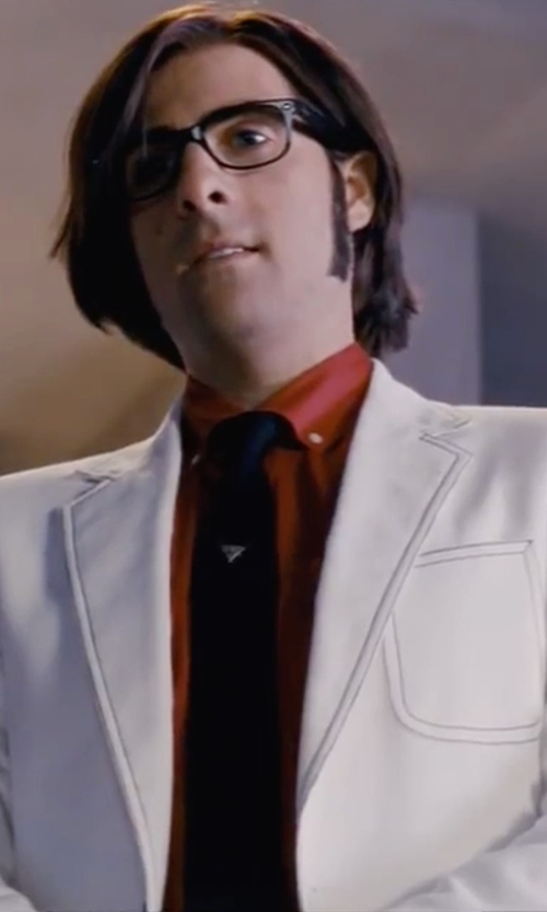Jason Schwartzman with Nordstrom Rack Long Sleeve Trim Fit Solid Shirt in Scott Pilgrim Vs. The World