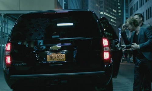 Alfie Allen with Chevrolet 2007 Tahoe LTZ SUV in John Wick