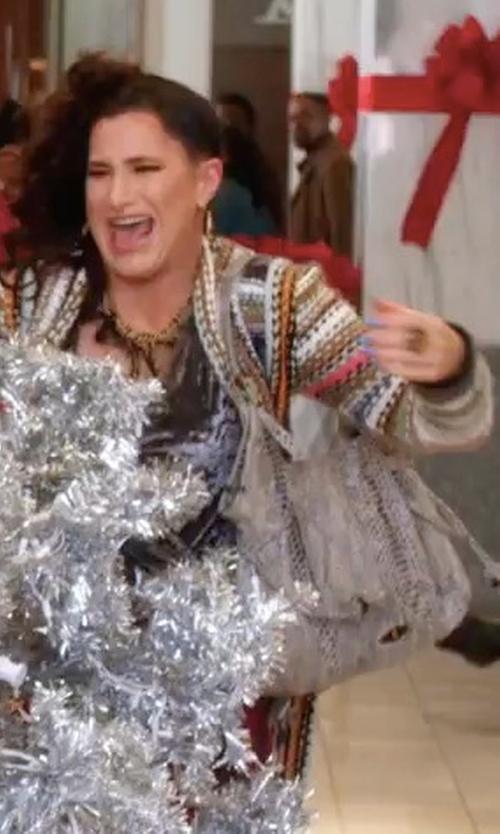 Kathryn Hahn with Clarks Talara Star Bag in A Bad Moms Christmas
