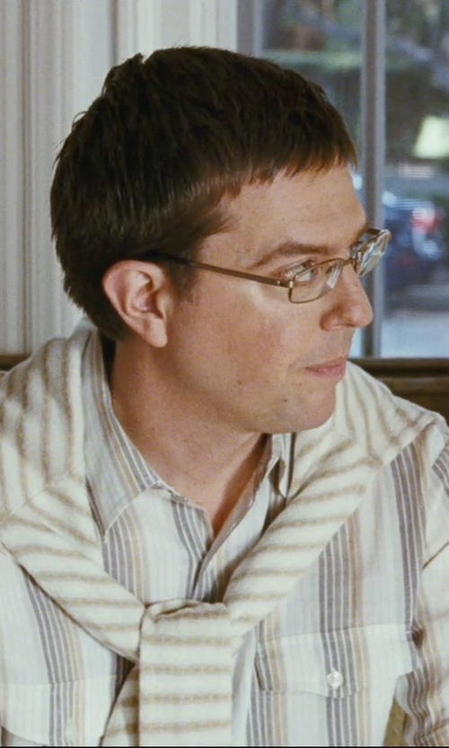 Ed Helms with Barena Stripe Sweater in The Hangover