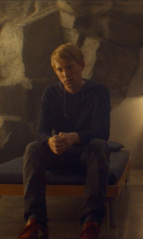 Domhnall Gleeson with Wings + Horns Base Full Zip Hoodie in Ex Machina