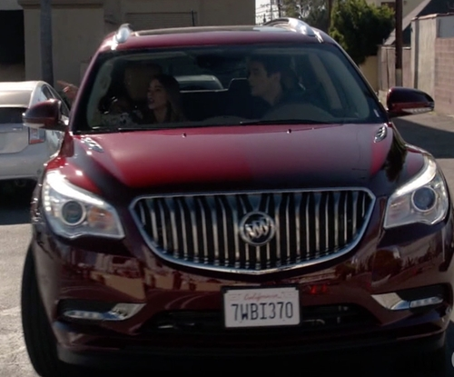 Ty Burrell with Buick Enclave SUV in Modern Family