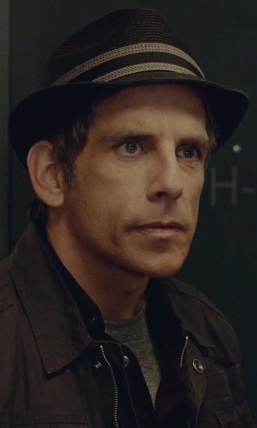 Ben Stiller with Alfani Red Slim-Fit Crewneck T-Shirt in While We're Young