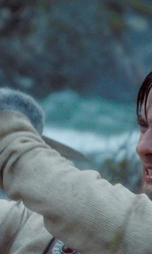 Ben Barnes with Beechfield Unisex Plain Basic Fingerless Winter Gloves in Seventh Son