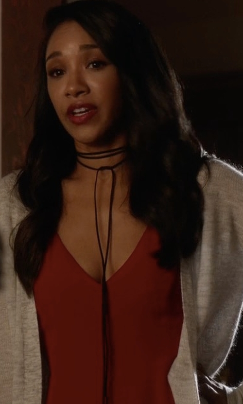 Candice Patton with Nsf Cielo Tee in The Flash