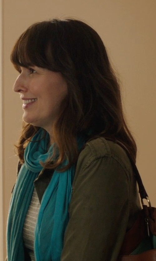 Rosemarie DeWitt with Talula Trooper Jacket in Poltergeist