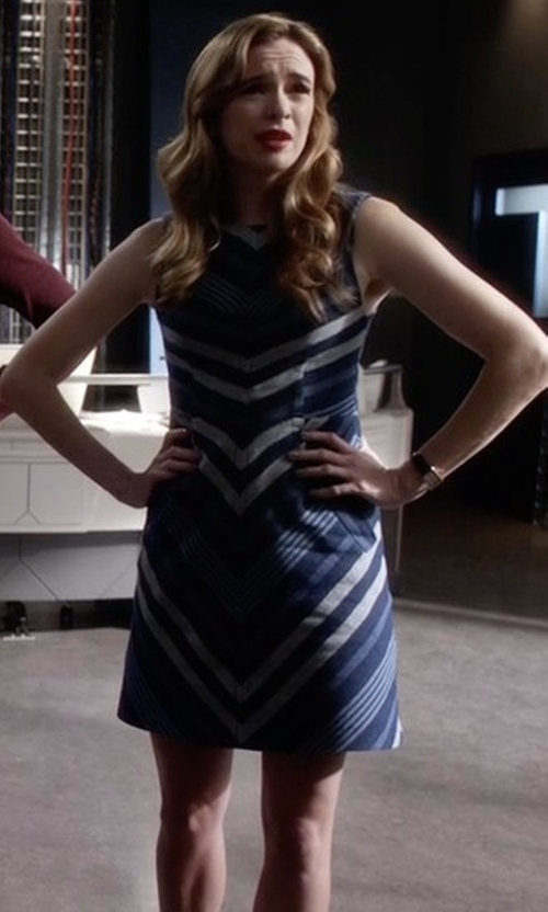 Danielle Panabaker with Maeve Antonia Dress in The Flash