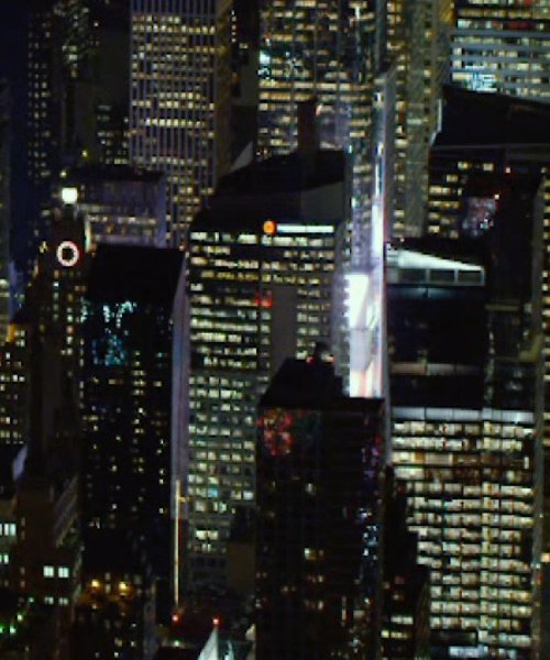 Unknown Actor with 3 Times Square (Thomson Reuters Building) New York City, New York in The Loft