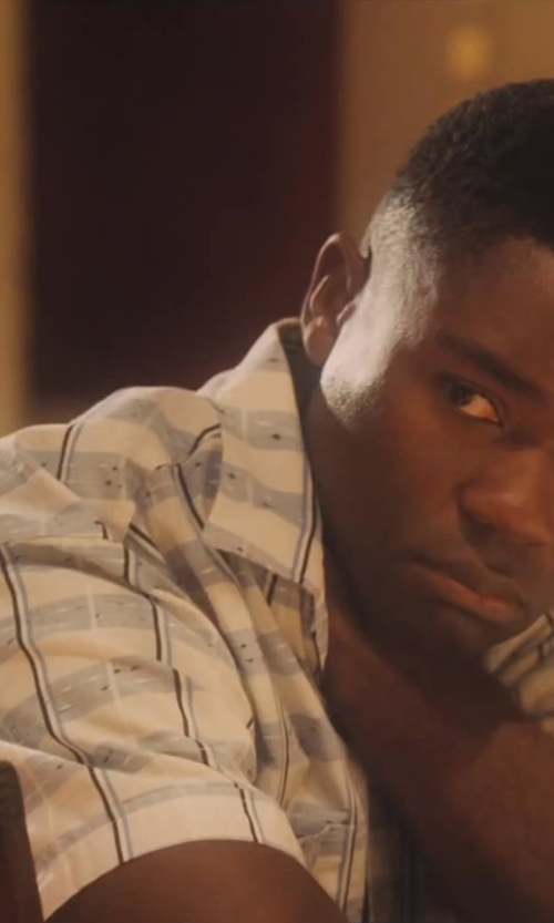 David Oyelowo with Quiksilver Engineer Short Sleeve Woven Shirt in Lee Daniels' The Butler