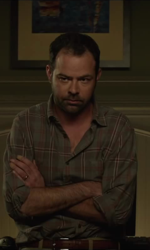 Rory Cochrane with Pendleton BOARD SHIRT in Oculus