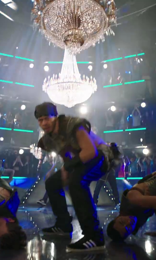 Stephen Stevo Jones with Bocinsky Coated Casual Pants in Step Up: All In